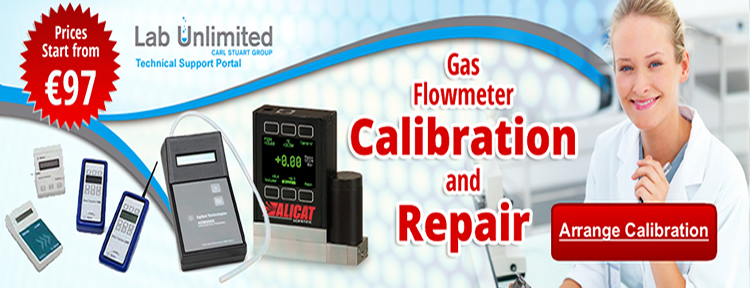 Chromatography Slide Flowmeter Calibration