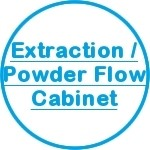 Extraction/Powder Flow Cabinet