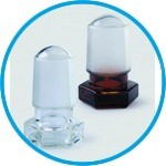 NS-Glass stoppers, hollow borosilicate glass 3.3