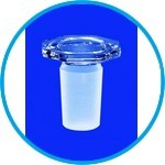 Conical ground joint stoppers, borosilicate glass 3.3
