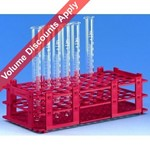 Brand Test Tube Racks, PP, for 18mm Diam. 9193246